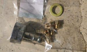 Gáztűzhely PB fúvóka készlet