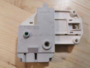 Zanussi mosógép ajtókapcsoló, 3 érintkezős