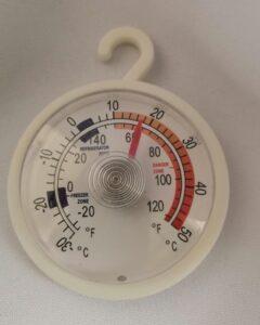 Hűtőszekrény hőmérő