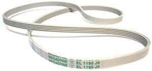 Elelctrolux/Zanussi mosógép laposszíj 1195 J5/J6