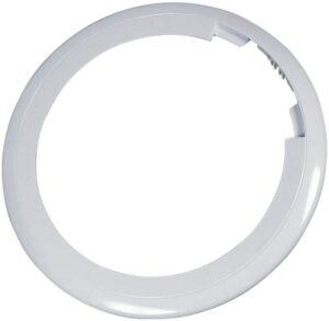 Whirlpool mosógép ablak keret fehér színben