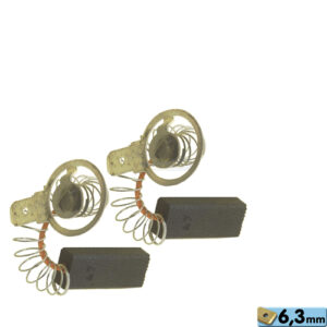 Whirlpool / Indesit mosógép szénkefe (2db/cs) 6,3x10x25 mm